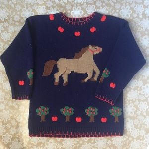 Hartstrings Horse in the Apple Orchard Sweater